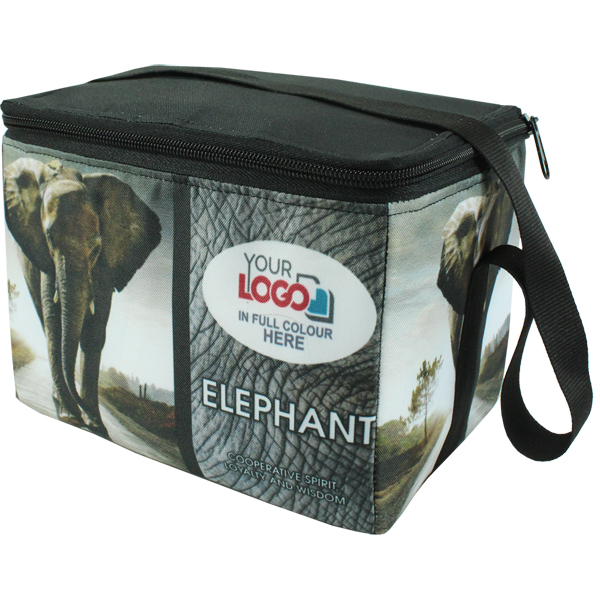 Big Five 6 can cooler. Choose your favorite animal and add logo