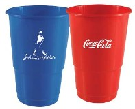 Mojo 500ml plastic cup - Avail in many colors