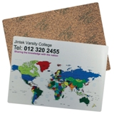 Cork Deskpad including full color print