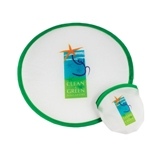 Polyester Frisbee with pouch