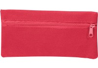 600D Pencil Bag - Available: black, blue, green, orange, red, ye