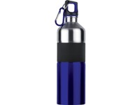 Stainless Steel Grip Bottle - Available: black, blue, red