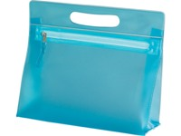 Carry All Cosmetic Case - Available: aqua, pink, white