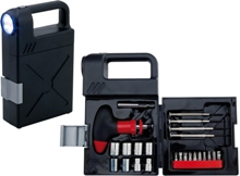Shine Tool Kit Tools and Torches - Availe in:Black