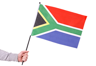 Large Sa Waving Flag