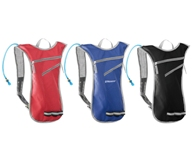 Hydration Backpack - Avail in: Black, Red or Blue