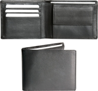 Genuine Nappa Leather Wallet Office and Executive - Availe in:Bl