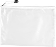 A5 Zipper Pouch Stationery - Availe in:Clear