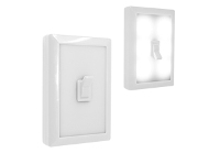 Flip Switch Led Light - Avail in: White