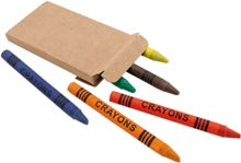 Comic Wax Crayon Set Stationery - Availe in:Natural