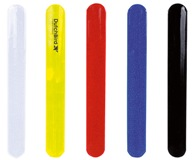 Reflexective Snap Band - Avail in: Black, White, Red, Yellow or