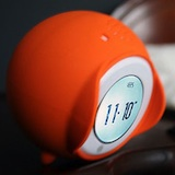 Tocky - A rolling alarm clock with a touch screen core…