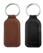 Italian Leather Key ring  Black; Brown