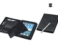 Leather Urban I-Pad Zipper Folder