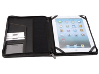 Tilford Zipped I-Pad Cover - PU Material - Black - Suitable for