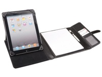 Elite Tri-Fold Tablet Cover - PU Material - Black - Suitable for