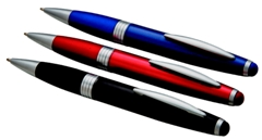 Splash Stylus - Metal Stylus Ballpen - Black; Red; Blue