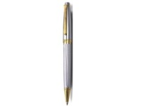 Soho - Bettoni - Metal Ballpen - Black/Chrome; Stainless Steel/G