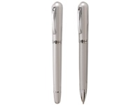 Valentino - Bettoni Metal Ballpen - Black; White - Boxed