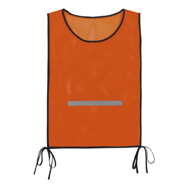 Mesh Bib - Available in: Safety Orange