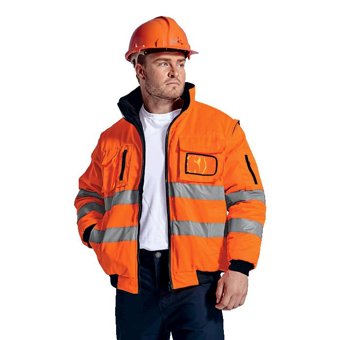 Barricade Jacket - Available in: Black, Navy, Safety Orange or S
