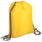 Lightweight Drawstring Bag - 210D - Lime