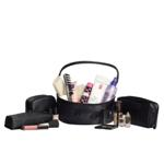 4pc Cosmetic Bag Set - Available in: Black