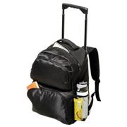 Trolley Backpack with Two Front Zippered Pockets