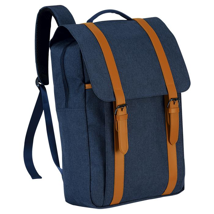 Exclusive Double Strap Design Backpack - Avail in: Grey Melange
