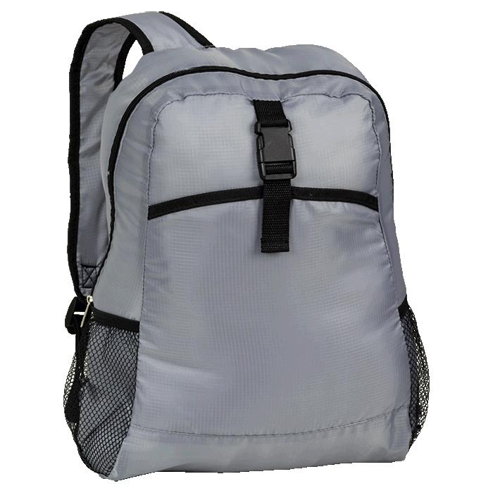 Foldable Travel Backpack - Avail in: Black or Grey