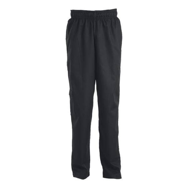 Chef Baggy Pants - Available in: Black, Grey, Black/White Check