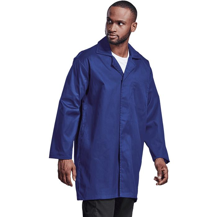 Barron Food Safety Dust Coat - Available in: Royal Blue or White