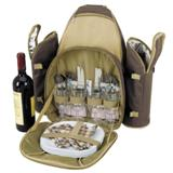 4-Person Picnic Set - Tan