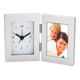 Desk Clock and Photo Frame