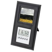Standing Photo Frame and Digital Clock
