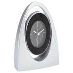 Alarm Clock with Swivel Dial - Available in: Silver