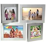 Adjustable Aluminium Photo Frame - Silver