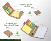Eco Sticky Note And Flag Set - Natural