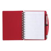 A6 Spiral Notebook and Pen