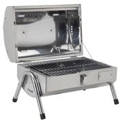Stainless Steel Two Section BBQ