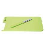 Cutting Board with Knife - Available in: Lime, Red or White
