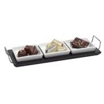 Porcelain 4 piece Serving Set - Available in: White