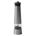 Electric Stainless Steel Pepper Mill - Available in: Silver