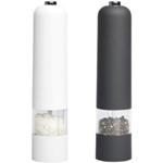 Salt and Pepper Mill Set - Available in: Black/White