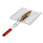 Braai Grill with Wooden Handle