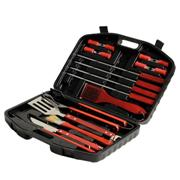 18 Piece Braai Set in Plastic Case