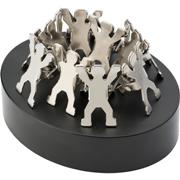 Magnetic Paperweight with Man Shaped Clips