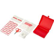 10 Piece First Aid Kit in Plastic Box