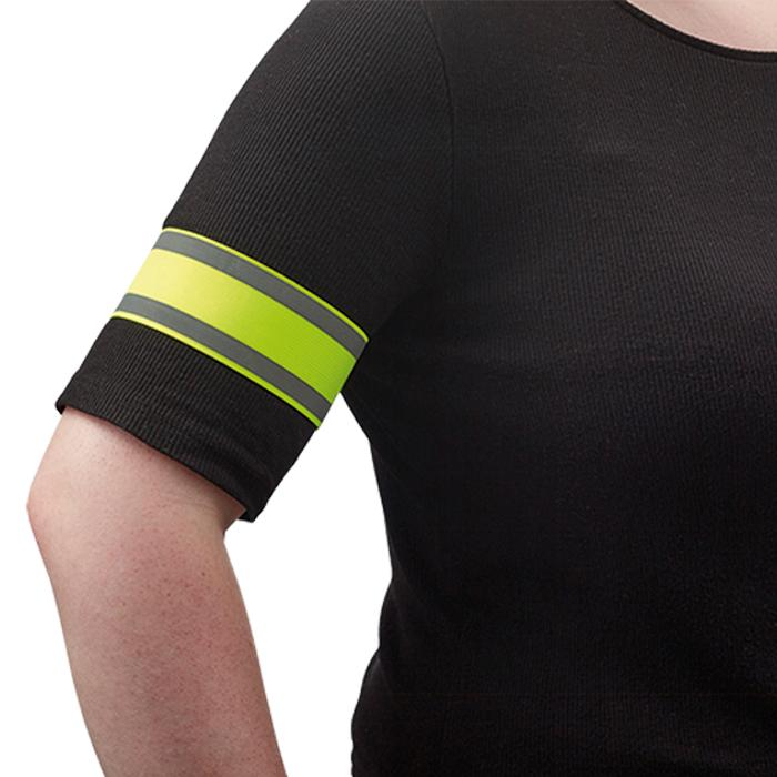 Reflective Safety Arm Band - Avail in: Yellow