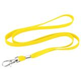 Woven Lanyard With Metal Clip - Green